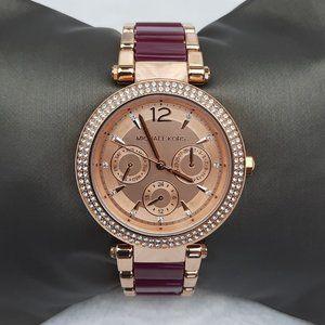 Michael Kors Womens Parker Chronograph Watch